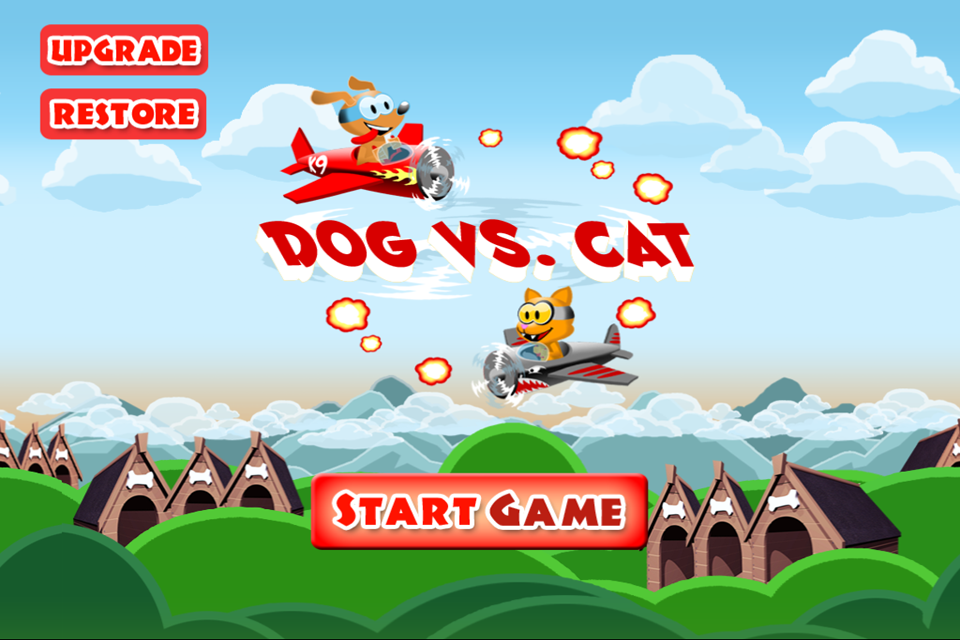 A Dog Race Vs. Ninja Temple Cats - Free Racing Game