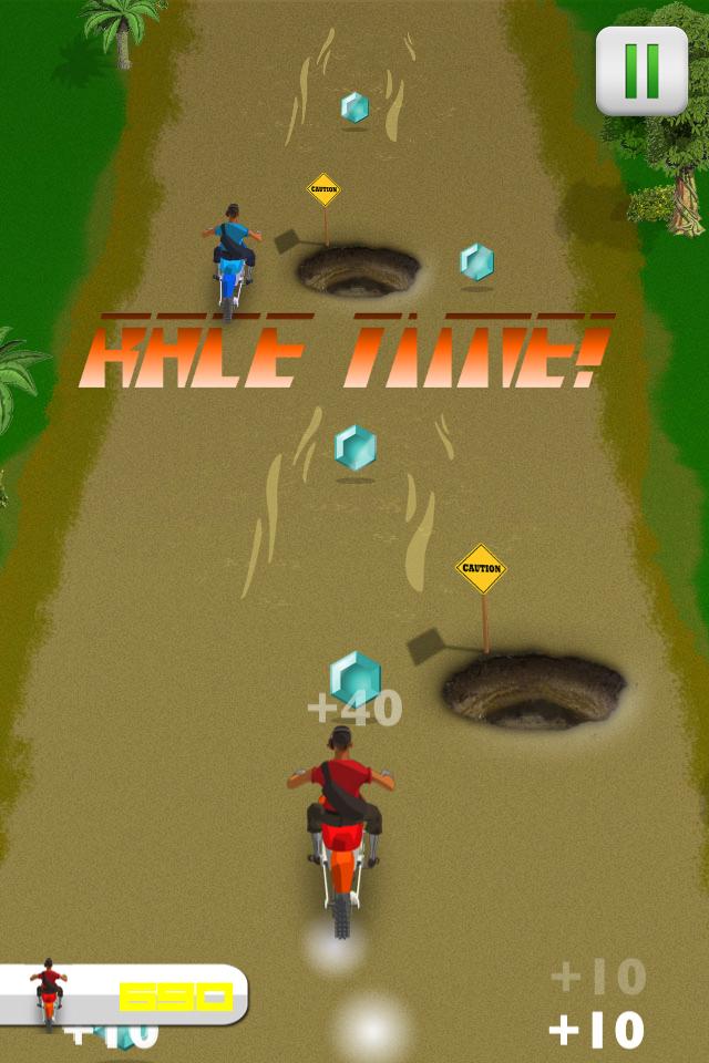 Screenshot Dirt Bike Rally – Nitro Motor X